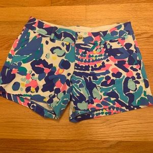 Lilly Pulitzer Callahan Stretch Short Size: 0